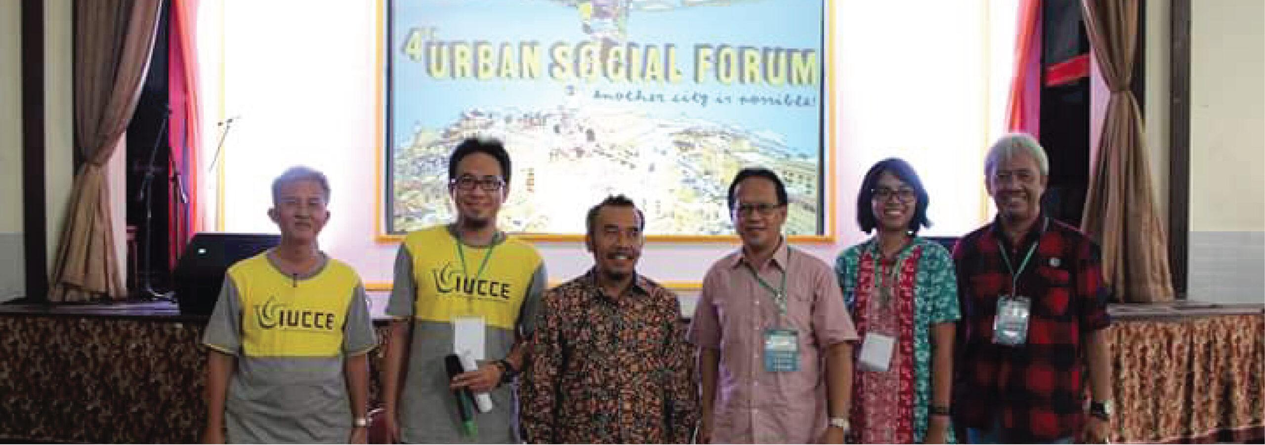 The Fourth Urban Social Forum in Semarang