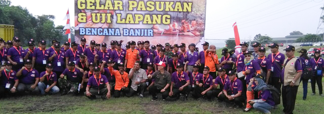 Participation of IUCCE on the Field Test Contingency Plan in Semarang City